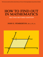 How to Find Out in Mathematics: A Guide to Sources of Information