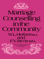 Marriage Counselling in the Community
