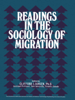 Readings in the Sociology of Migration: The Commonwealth and International Library: Readings in Sociology