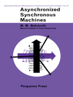 Asynchronized Synchronous Machines