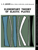 Elementary Theory of Elastic Plates: The Commonwealth and International Library: Structures and Solid Body Mechanics Division
