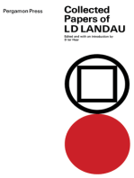 Collected Papers of L.D. Landau