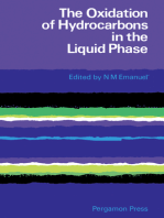 The Oxidation of Hydrocarbons in the Liquid Phase