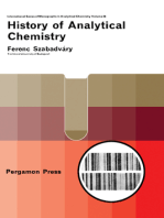 History of Analytical Chemistry: International Series of Monographs in Analytical Chemistry