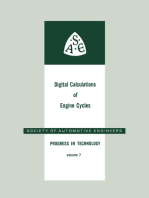 Digital Calculations of Engine Cycles