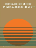Non-Aqueous Solvents in Inorganic Chemistry