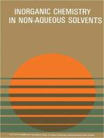Non-Aqueous Solvents in Inorganic Chemistry