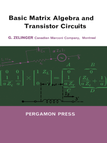 Basic Matrix Algebra and Transistor Circuits