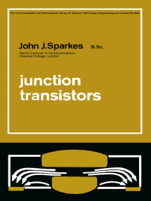 Junction Transistors: The Commonwealth and International Library: Applied Electricity and Electronics