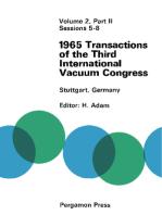 1965 Transactions of the Third International Vacuum Congress: 28 Jun–2 July 1965, Stuttgart, Germany