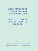 Guide Pratique de l'Entreposage Frigorifique