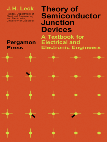 Theory of Semiconductor Junction Devices: A Textbook for Electrical and Electronic Engineers