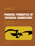 Physical Principles of Chemical Engineering: International Series of Monographs in Chemical Engineering