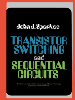 Transistor Switching and Sequential Circuits