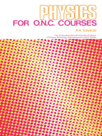 Physics for O.N.C. Courses