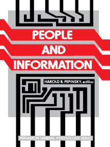 People and Information: Pergamon General Psychology Series