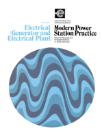 Electrical (Generator and Electrical Plant): Modern Power Station Practice