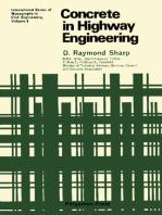 Concrete in Highway Engineering: International Series of Monographs in Civil Engineering