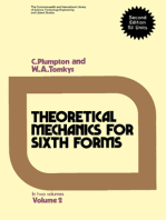 Theoretical Mechanics for Sixth Forms
