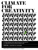 Climate for Creativity