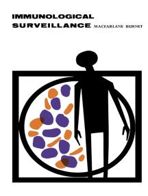 Immunological Surveillance