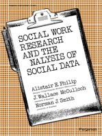 Social Work Research and the Analysis of Social Data