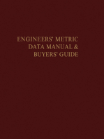The Engineers' Metric Data Manual and Buyers' Guide