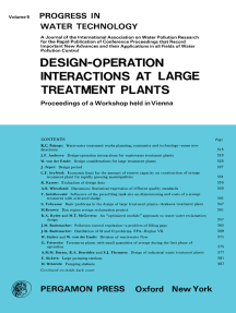 Design—Operation Interactions at Large Treatment Plants: Proceedings of a Workshop Held in Vienna