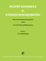 Recent Advances in Steroid Biochemistry