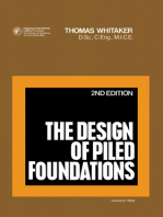 The Design of Piled Foundations: Structures and Solid Body Mechanics