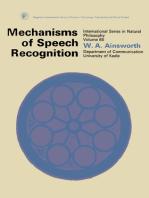 Mechanisms of Speech Recognition