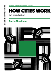 How Cities Work: An Introduction
