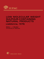 Low Molecular Weight Sulphur Containing Natural Products