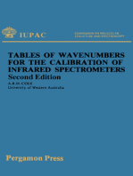 Tables of Wavenumbers for the Calibration of Infrared Spectrometers
