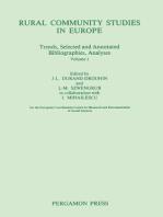 Rural Community Studies in Europe