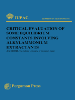 Critical Evaluation of Some Equilibrium Constants Involving Alkylammonium Extractants