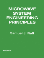 Microwave System Engineering Principles