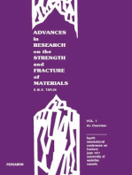 Advances in Research on the Strength and Fracture of Materials