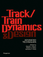 Track/Train Dynamics and Design