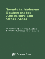 Trends in Airborne Equipment for Agriculture and Other Areas