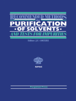 Recommended Methods for Purification of Solvents and Tests for Impurities