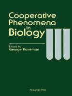 Cooperative Phenomena in Biology
