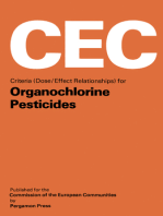 Criteria (Dose/Effect Relationships) for Organochlorine Pesticides