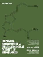 Chemistry, Biochemistry, and Pharmacological Activity of Prostanoids