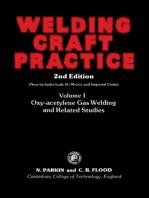 Welding Craft Practice: Oxy-Acetylene Gas Welding and Related Studies