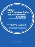 Money and Monetary Policy in Less Developed Countries: A Survey of Issues and Evidence