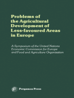 Problems of the Agricultural Development of Less-Favoured Areas in Europe