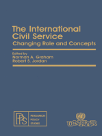 The International Civil Service: Changing Role and Concepts