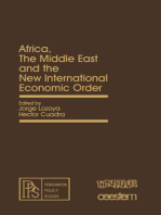 Africa, the Middle East and the New International Economic Order