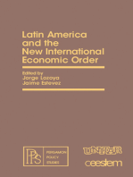 Latin America and the New International Economic Order: Pergamon Policy Studies on The New International Economic Order